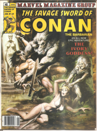 Conan, the savage sword of -