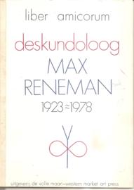 Deskundoloog Max Reneman 1923-1978
