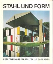 """Weber, Heidi: """"Stahl und Form. Ausstellungsgebäude von le Corbusier""""."""