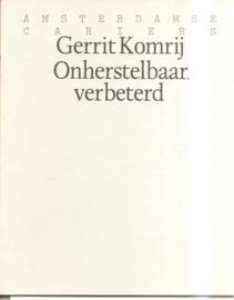 Komrij, Gerrit: Onherstelbaar verbeterd