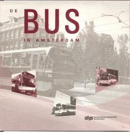 """Gemeentevervoer Amsterdam: """"De BUS in Amsterdam"""". (kan nog niet besteld worden)"""