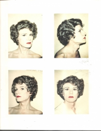 "Warhol, Andy: ""Polaroidds 1971 - 1986'."