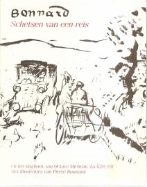 """Bonnard, Pierre: """"Schetsen van een reis""""."""