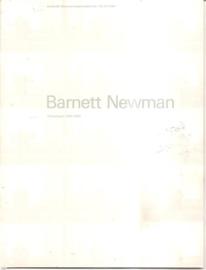 Catalogus Stedelijk Museum 678: Barnett Newman
