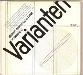 """Katalogus """"Varianten"""": abstrakt-geometrische kunst in Nederland."""