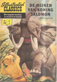 Illustrated Classics 026: De mijnen van koning Salomo