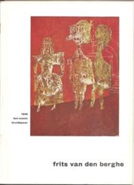 Catalogus Stedelijk Museum 165: Frits van den Berghe.