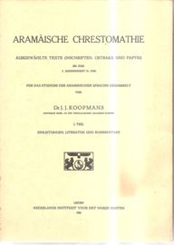 Koopmans, J.J.: 2 boeken over het Aramees
