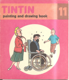 Kuifje: Tintin painting and drawing boook 11