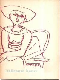 """Catalogus Stedelijk Museum 069: """"Figuren uit de jonge Italiaanse kunst""""."""