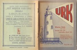 """Urk: """"Kleine Gids voor een bezoek aan het voormalig eiland Urk""""."""