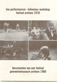 "Catalogus ""Documenten van een festival""."