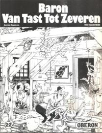 Oberon Zwart Wit Reeks 22: Baron Van tast Tot Zeveren.