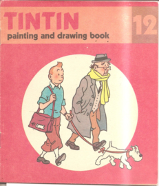 Kuifje: Tintin painting and drawing boook 12