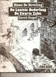 """Oberon Zwartwit Reeks 41: """"De laatste nederlaag / De zwarte zalm""""."""