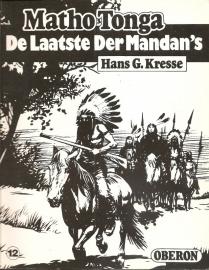 """Oberon Zwartwit Reeks 12: """"De laatste der Mandan`s""""."""
