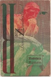 """Zonderland, Daan: """"Redeloze Rijmen""""."""