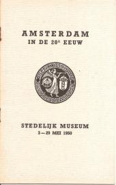 Catalogus Stedelijk Museum zonder nummer: Amsterdam in de 20e eeuw.