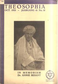 Theosophia: In memoriam dr. Annie Besant
