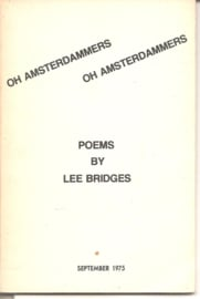 Bridges, Lee: Oh Amsterdammers Oh Amsterdammers (gesigneerd)