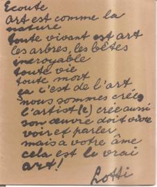 Gaag, Lotti van der: Catalogus Haags gemeentemuseum 1965