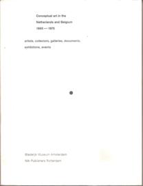 catalogus Stedelijk Museum  865: Conceptual art