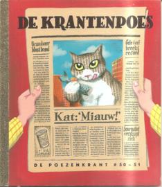 Poezenkrant, de no. 50/51: De krantenpoes