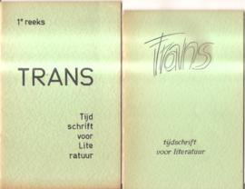 Trans: tijdschrift voor Literatuur
