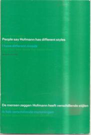 catalogus Stedelijk Museum 375: Hofmann