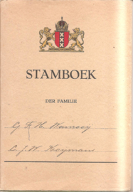 Stamboek der familie G.F.H. Wanrooij