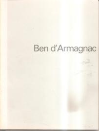 Catalogus Stedelijk Museum 683: Ben d'Armagnac