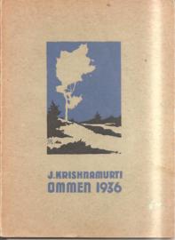 Krishnamurti: Ommen 1936