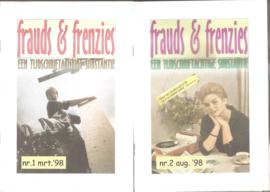 Frauds & Frenzies nrs. 1 t/m 4