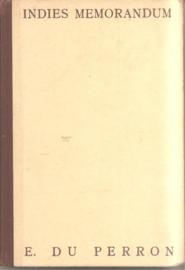 Perron, E. du: Indies Memorandum