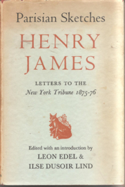 James, Henry: Parisian Sketches