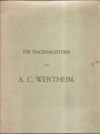 """Boissevain, J.: """"Ter nagedachtenis van A.C. Wertheim""""."""