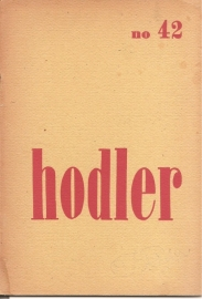 Catalogus Stedelijk Museum 042: Hodler.