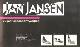 Catalogus Stedelijk Museum zonder nummer: Jan Jansen 22 jaar schoenontwerpen.