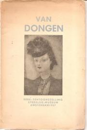 Catalogus Stedelijk Museum, zonder nummer: Kees van Dongen