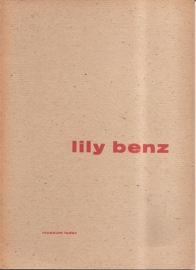 catalogus Stedelijk Museum 139: Lily Benz