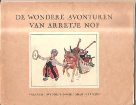 Arretje Nof: Verlucht Sprookje door Johan Fabricius (bundeling)