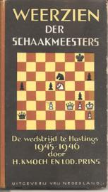 Kmoch, H. en Prins, lodewijk: weerzien der schaakmeesters