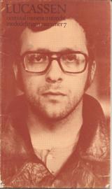 Lucassen: Dagboekfragmenten 1972-1974