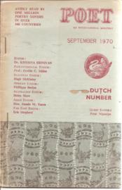 Poet september 1970;  Dutch number