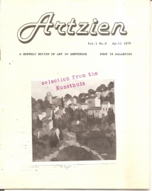 ARTZIEN; vol. 1 no. 6 april 1979