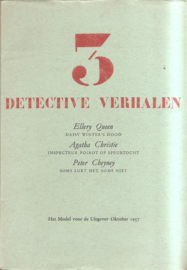 Model voor de uitgever: 3 detective verhalen