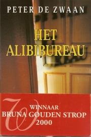 """Zwaan, Peter de: """"Het Alibibureau""""."""