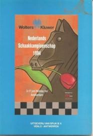 """Weg, MInze bij de: """"Nederlands Schaakkampioenschap 1994""""."""