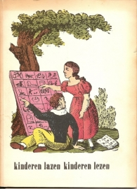 """Catalogus Stedelijk Museum 195: """"Kinderen lazen kinderen lezen""""."""