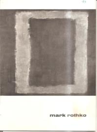 catalogus stedelijk Museum 283: Mark Rothko